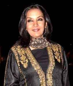 Shabana Azmi: Indian actress