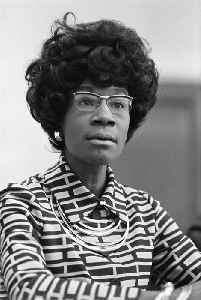 Shirley Chisholm: American politician