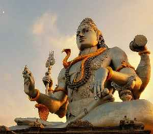 Shiva: One of the principal deities of Hinduism.