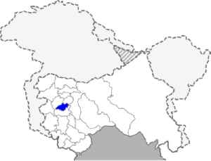 Shopian district: District in India