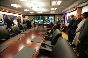Situation Room: Secure conference room in the White House, Washington D.C.