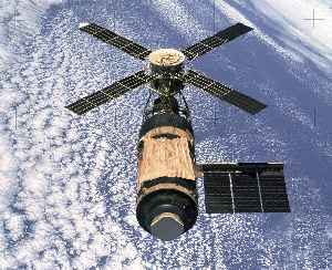 Skylab: Space station launched and operated by NASA
