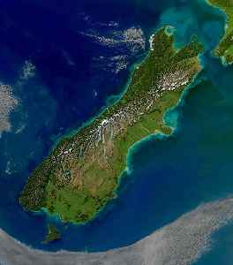 South Island: Southernmost of the two main islands in New Zealand