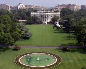 South Lawn: Location within the White House campus in Washington, DC