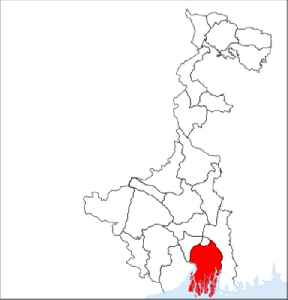 South 24 Parganas: District of West Bengal in India