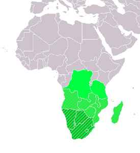 Southern Africa: Southernmost region of the African continent