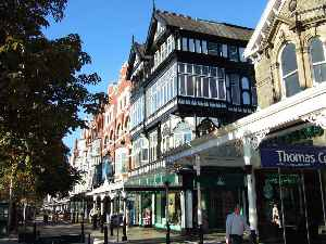 Southport: Town in the Metropolitan Borough of Sefton, England