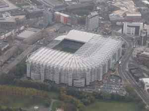 St James' Park: Football stadium in Newcastle upon Tyne, England