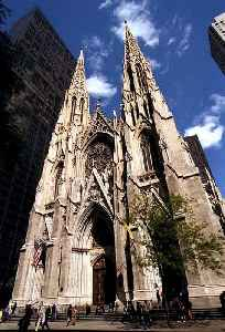St. Patrick's Cathedral (Manhattan): Church in New York, United States