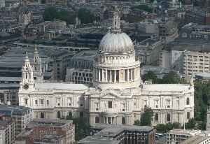 St Paul's Cathedral: Cathedral in the City of London, England