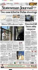 Statesman Journal: Major daily newspaper published in Salem, Oregon, United States