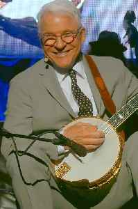 Steve Martin: American actor, comedian, musician, author, playwright, and producer