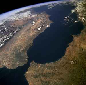 Strait of Gibraltar: Strait that connects the Atlantic Ocean to the Mediterranean Sea