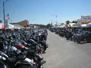 Sturgis Motorcycle Rally: Large summer gathering of motorcycle enthusiasts in South Dakota