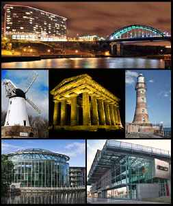 Sunderland: City in Tyne and Wear, North East England