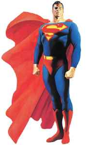 Superman: Fictional superhero