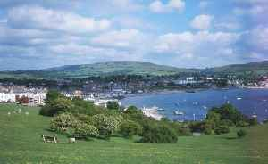 Swanage: Human settlement in England