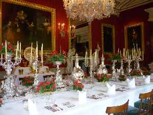 Tableware: Items used for setting a table and serving food