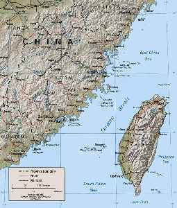 Taiwan Strait: Strait between China and Taiwan