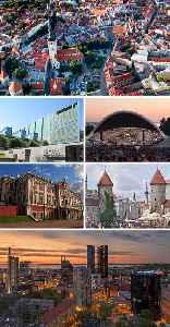 Tallinn: City in Harju, Estonia