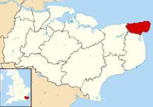 Thanet District: Non-metropolitan district in England