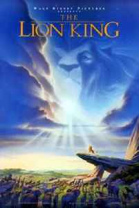 The Lion King: 1994 American animated musical film produced by Walt Disney Feature Animation