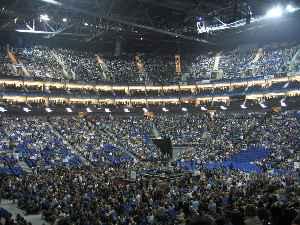 The O2 Arena: Multi-purpose indoor arena located in The O2 in London