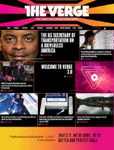 The Verge: American technology news and media website operated by Vox Media