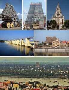 Tiruchirappalli: City in Tamil Nadu, India