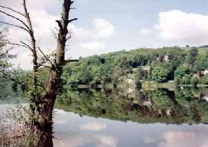 Toddbrook Reservoir: English reservoir