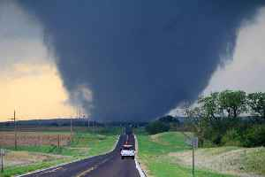 Tornado: Violently rotating column of air that is in contact with both the earth's surface and a cumulonimbus cloud in the air