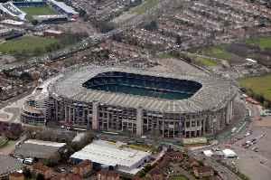 Twickenham Stadium: Rugby stadium in London