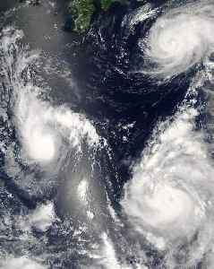 Typhoon: Tropical cyclone that forms in the northwestern Pacific Ocean