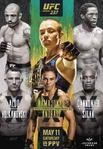 UFC 237: UFC mixed martial arts event in 2019