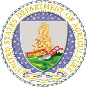 United States Department of Agriculture: Department of United States government responsible policy on farming, agriculture, forestry, and food