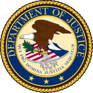 United States Department of Justice: U.S. federal executive department in charge of law enforcement