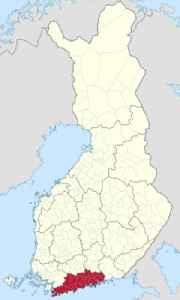 Uusimaa: Region in Finland