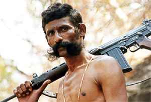 Veerappan: Indian bandit who was charged allegedly for sandalwood smuggling