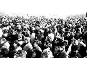 Velvet Revolution: Democratization process in Czechoslovakia in 1989