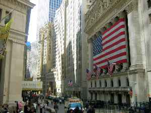 Wall Street: Street in Manhattan, New York