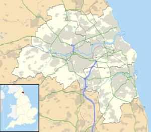 Wallsend: Area in North Tyneside, Tyne and Wear, England.