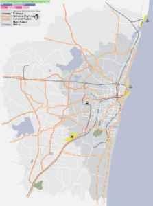 Washermanpet: Suburb in Chennai, Tamil Nadu, India