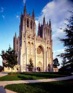 Washington National Cathedral: Neo-Gothic cathedral located in Washington, D.C.