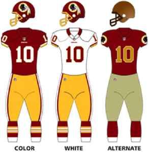 Washington Redskins: American football team based in the Washington, D.C. area