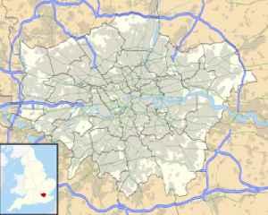 Waterloo, London: Human settlement in England