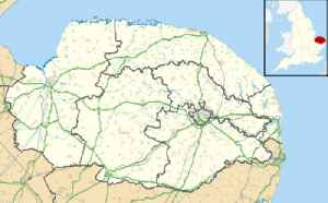 Waxham: Human settlement in England
