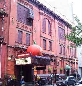 Webster Hall: Nightclub, concert venue and recording studio in East Village, Manhattan, New York City, USA