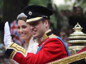 Wedding of Prince William and Catherine Middleton: Wedding that took place on 29 April 2011 at Westminster Abbey in London