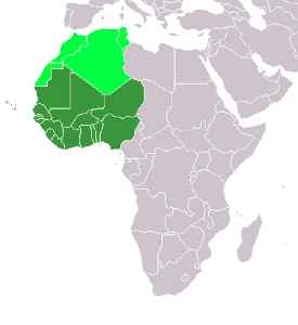 West Africa: Westernmost region of the African continent