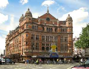 West End theatre: Term for mainstream professional theatre staged in and near the West End of London